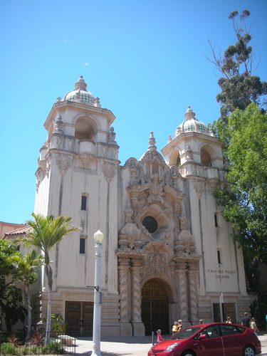 Casa Del Prado And Theater / Balboa Park