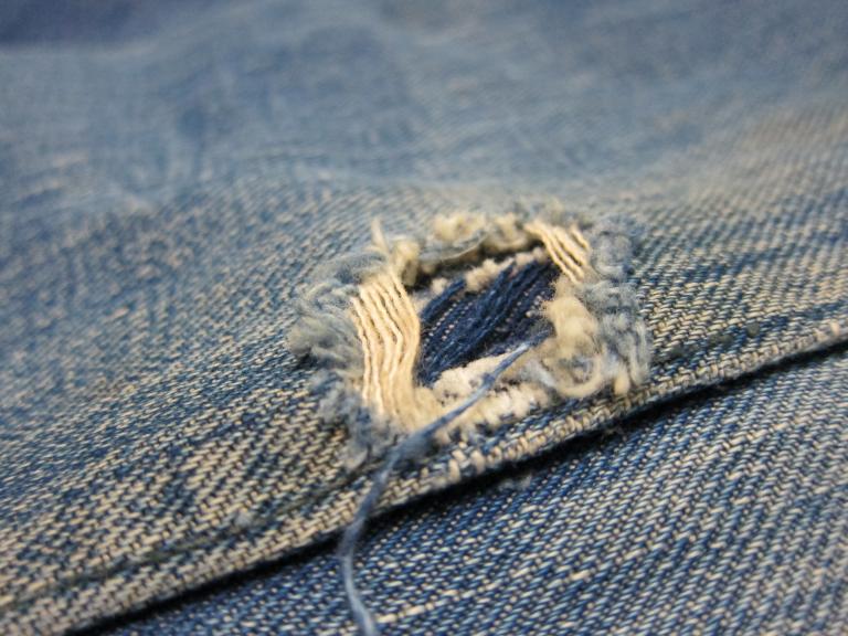 Denim Jacket Repair
