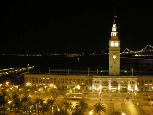 Ferry Building in The Night