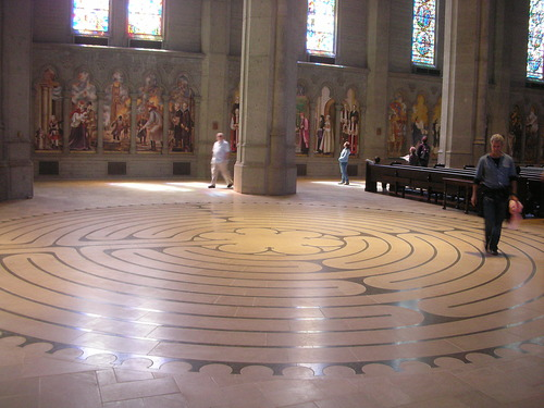 Indoor Labyrinth / Grace Cathedral