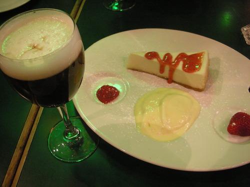 Irish Coffee & Cheese Cake