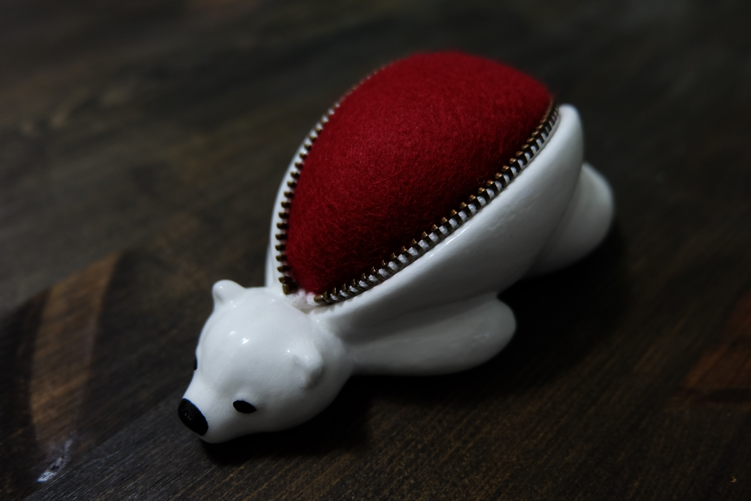 Polar Bear Pincushion